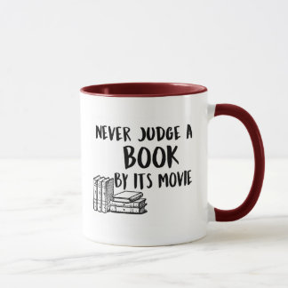Never judge a book by its movie mug