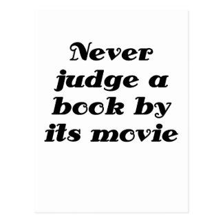 Never Judge a Book by its Movie Post Cards