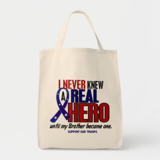 Never Knew A Hero 2 Brother (Support Our Troops)