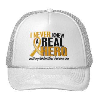 Never Knew a Hero 2 Godmother Appendix Cancer Trucker Hat