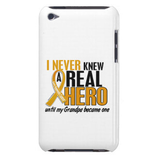 Never Knew a Hero 2 Grandpa Appendix Cancer iPod Touch Cover