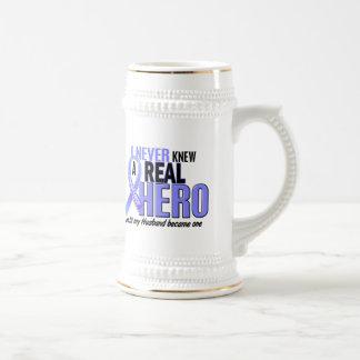 Never Knew A Hero 2 Husband Prostate Cancer Coffee Mug