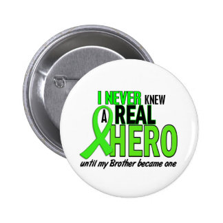 Never Knew A Hero 2 LIME GREEN (Brother) 6 Cm Round Badge