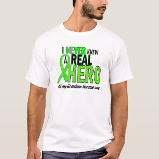 Never Knew A Hero 2 LIME GREEN (Grandson) T-Shirt