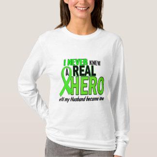 Never Knew A Hero 2 LIME GREEN (Husband) T-Shirt