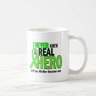 Never Knew A Hero 2 LIME GREEN (Mother) Basic White Mug