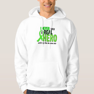 Never Knew A Hero 2 LIME GREEN (Son) Hoodie