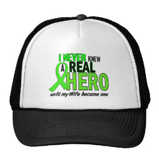 Never Knew A Hero 2 LIME GREEN (Wife) Trucker Hats