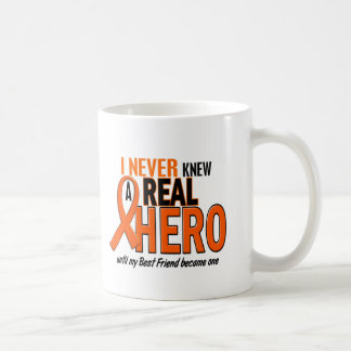 Never Knew A Hero 2 ORANGE (Best Friend) Basic White Mug