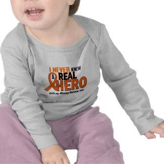 Never Knew A Hero 2 ORANGE (Mommy) T-shirt