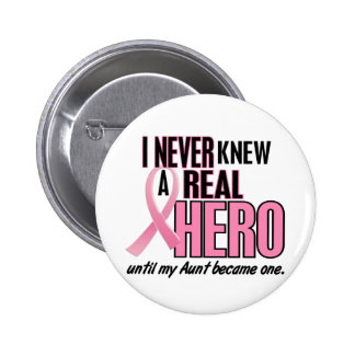 Never Knew A Hero 2 PINK (Aunt) 6 Cm Round Badge