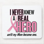 Never Knew A Hero 2 PINK (Mum) Mouse Pad