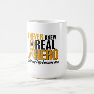 Never Knew a Hero 2 Pop Appendix Cancer Coffee Mug