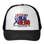Never Knew A Hero 2 Son (Support Our Troops) Cap