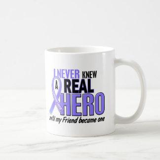 Never Knew A Hero Friend Esophageal Cancer Basic White Mug