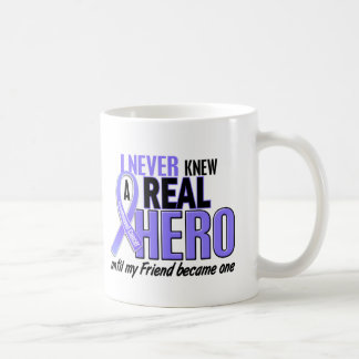 Never Knew A Hero Friend Esophageal Cancer Coffee Mug