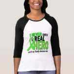 Never Knew A Real Hero 2 LIME (Daddy) Tee Shirts