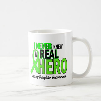 Never Knew A Real Hero 2 LIME (Daughter) Classic White Coffee Mug