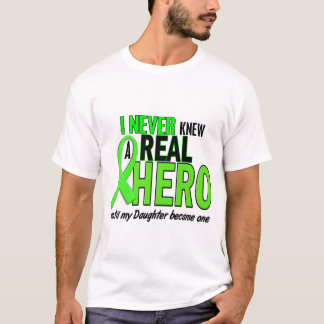 Never Knew A Real Hero 2 LIME (Daughter) T-Shirt