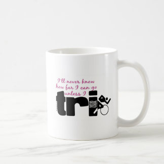 Never Know Unless I TrI - Script Mugs