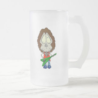 Never Leaving the Band Frosted Glass Mug