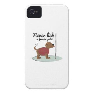 Never Lick A Frozen Pole iPhone 4 Case