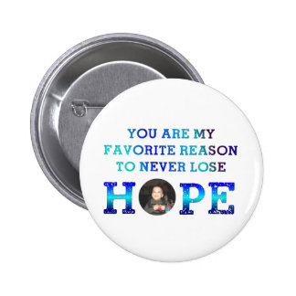 Never Lose Hope - Caiden 6 Cm Round Badge