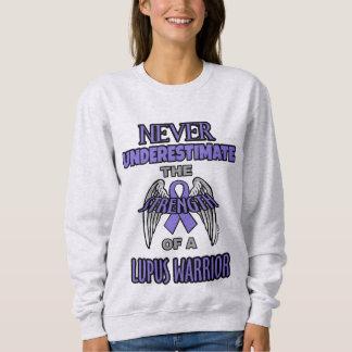 Never...Lupus Warrior Sweatshirt