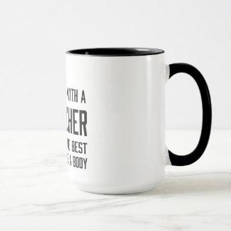 Never Mess with a Geocacher… Mug