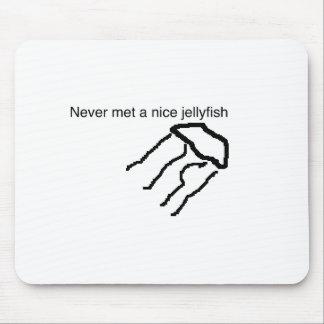 never met a nice jellyfish mouse mat
