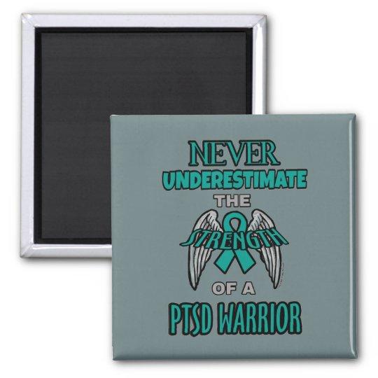 Never...PTSD Warrior Magnet