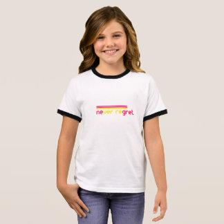 Never regret ringer T-Shirt
