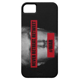 'Never Retreat. Retweet' Case iPhone 5 Cover