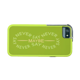NEVER SAY NEVER custom cases iPhone 5 Cases