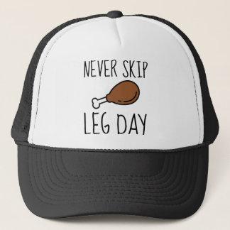 Never Skip Leg Day Trucker Hat