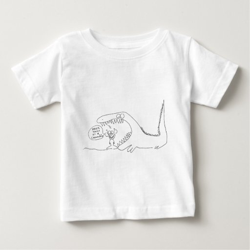Never Smile at a Crocodile Baby T-Shirt