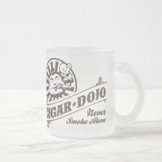 Never Smoke Alone Frosted Glass Coffee Mug