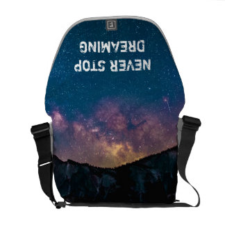 Never Stop Dreaming Rickshaw Messenger Bag