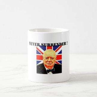 Never Surrender ! Mug