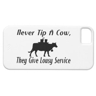 Never Tip A Cow Case For The iPhone 5