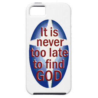 Never Too Late iPhone 5 Cases