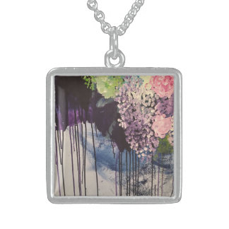Never Too Many Flowers Sterling Silver Necklace
