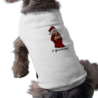 Never too old for a Diploma Pet Tee Shirt