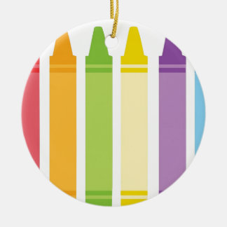 Never Too Old For Crayons Christmas Ornament