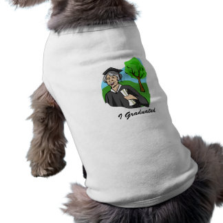 Never too Old - Graduate Doggie Tshirt
