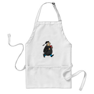 Never Too Old to Graduate Aprons