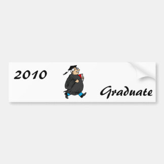 Never Too Old to Graduate Car Bumper Sticker
