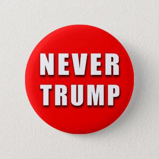 """NEVER TRUMP"" 2.25-inch 6 Cm Round Badge"