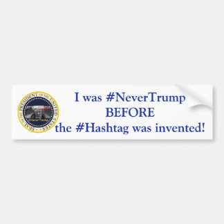 # Never Trump Bumper Sticker
