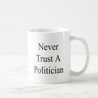 Never Trust A Politician Coffee Mug